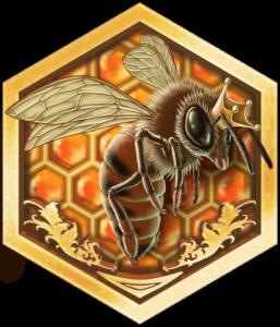 Sullivan's Queen Bees: Logo