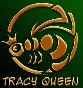 Tracy Queen: Metal Bee - Logo