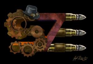 S7E - Steampunk logo