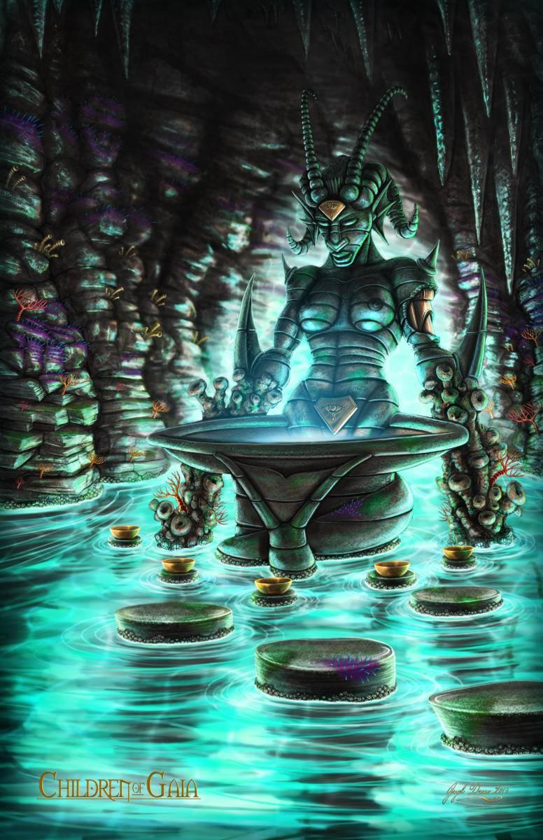 The Chalice of Eblenara - Eternal of Water