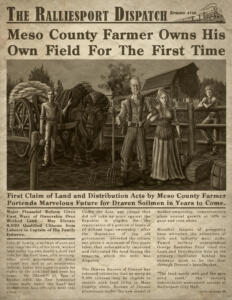 The Lowry Farm newspaper article