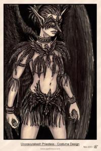 COG: Ucoravurakesh costume design