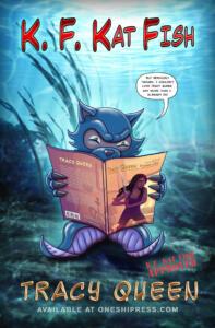 K.F. Kat Fish - Tracy Queen Advert